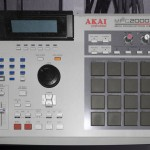 The Akai 2000xl Drum Sampler