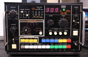 Roland CR-78 - drum loop creator