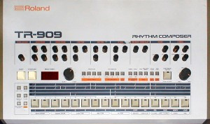 Roland_TR-909 - drum sounds